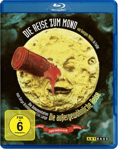 Blu-ray - Die Reise zum Mond / Die außergewöhnliche Reise (OmU)