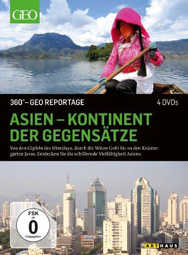 DVD - 360° GEO REPORTAGE: Asien - Kontinent der Gegensätze