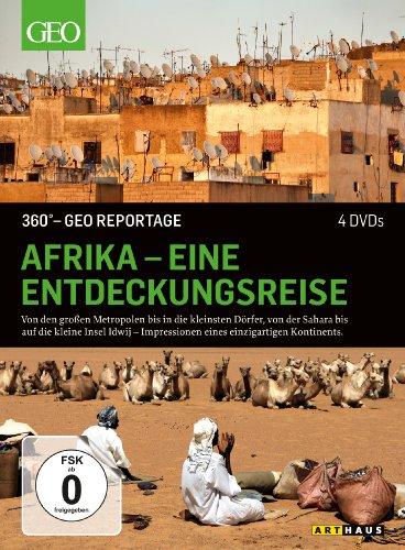 DVD - 360° GEO REPORTAGE: Afrika - Eine Entdeckungsreise