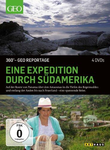 DVD - 360° GEO REPORTAGE: Eine Expedition durch Südamerika