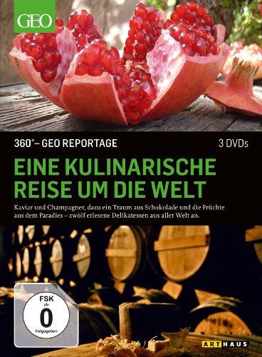 DVD - 360° GEO REPORTAGE: Eine kulinarische Reise um die Welt