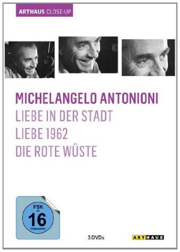 DVD - Michelangelo Antonioni - Arthaus Close-Up (Liebe in der Stadt / Liebe 1962 / Die rote Wüste)