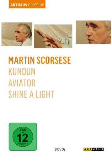 DVD - Martin Scorsese - Arthaus Close-Up (Kundun / Aviator / Shine a Light)