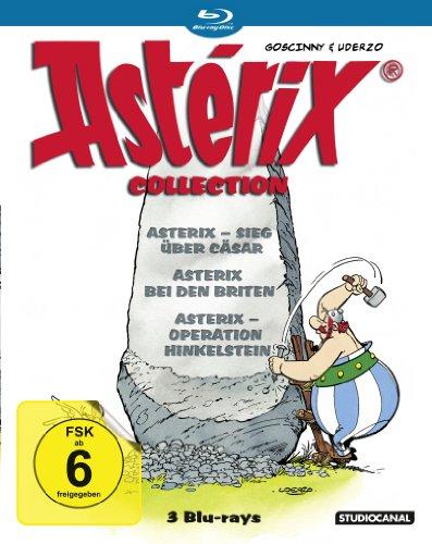 Blu-ray - Asterix Collection (Sieg über Cäsar / Bei den Briten / Operation Hinkelstein)