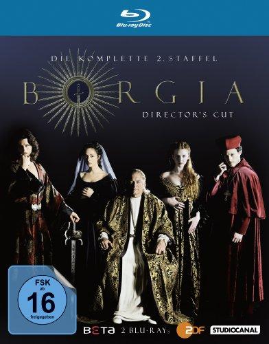 Blu-ray - Borgia - Staffel 2 (Director's Cut)