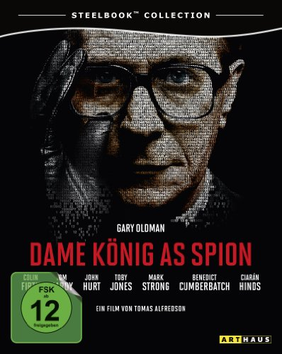Blu-ray - Dame, König, As, Spion (Steelbook)