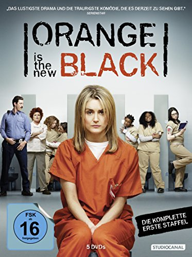 DVD - Orange Is the New Black - Die komplette erste Season [5 DVDs]
