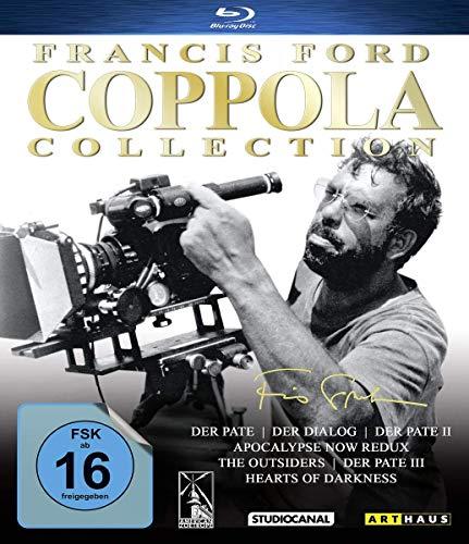 Blu-ray - Francis Ford Coppola Collection (Der Pate, Der Dialog, Der Pate 2 u.a.)