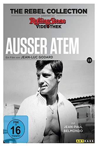 DVD - Ausser Atem (Rolling Stone Videothek: The Rebel Collection 3/10)