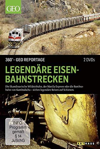 DVD - Legendäre Eisenbahnstrecken (360 Gard - GEO Reportage)