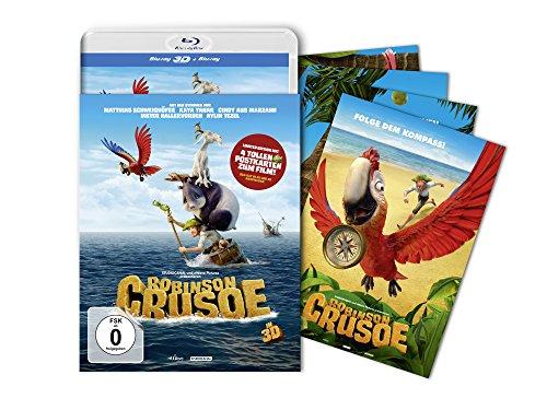 Blu-ray - Robinson Crusoe 3D (2D+3D) (Limited Edition)