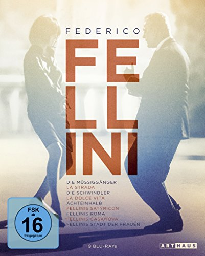 Blu-ray - Federico Fellini Edition - 9 Filme (9 Blu-ray Set) (ArtHaus 25 Edition)