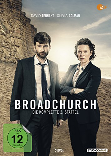 DVD - Broadchurch - Die komplette 2. Staffel [3 DVDs]