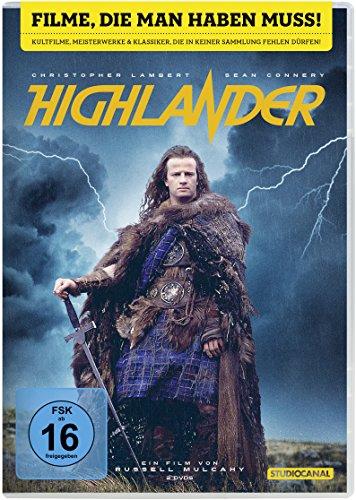 DVD - Highlander (Remastered) (30th Anniversary Edition)