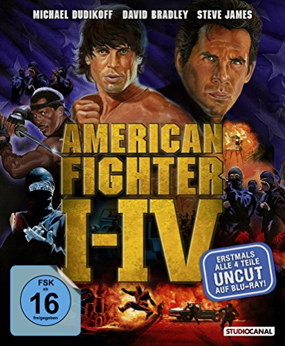 Blu-ray - American Fighter I-IV (Uncut)