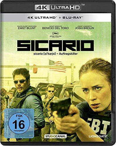 Blu-ray - Sicario Ultra HD (  Blu-ray)