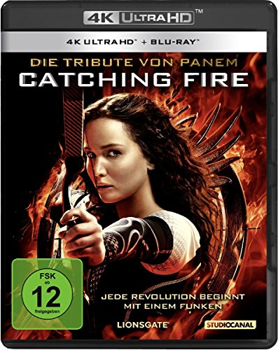 Blu-ray - Die Tribute von Panem - Catching Fire Ultra HD ( Blu-ray)