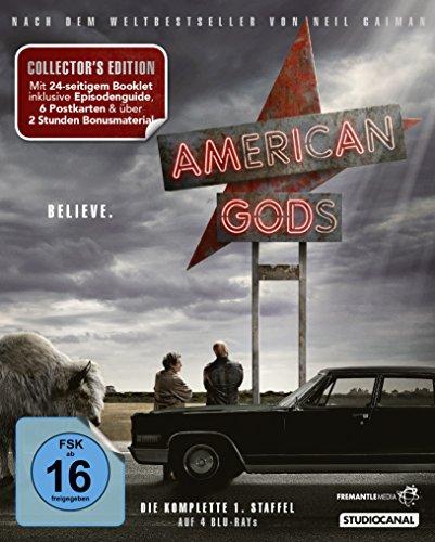 Blu-ray - American Gods - Staffel 1 (Collector's Edition)