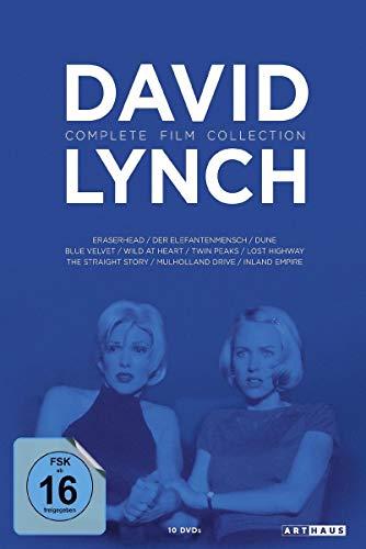 DVD - David Lynch: Complete Film Collection (10 DVD SET)