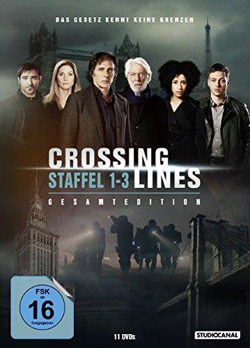 DVD - Crossing Lines - Staffel 1-3 Gesamtedition (11 Discs)