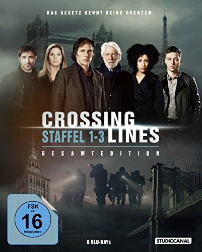 Blu-ray - Crossing Lines - Staffel 1 - 3
