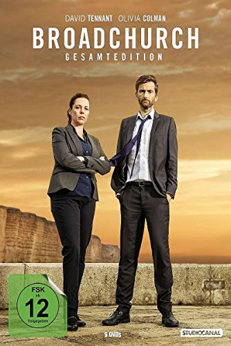 DVD - Broadchurch - Gesamtedition - Staffel 1-3