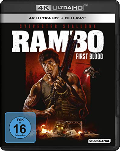 BLu-ray - Rambo - First Blood  (4K Ultra HD) [Blu-ray]