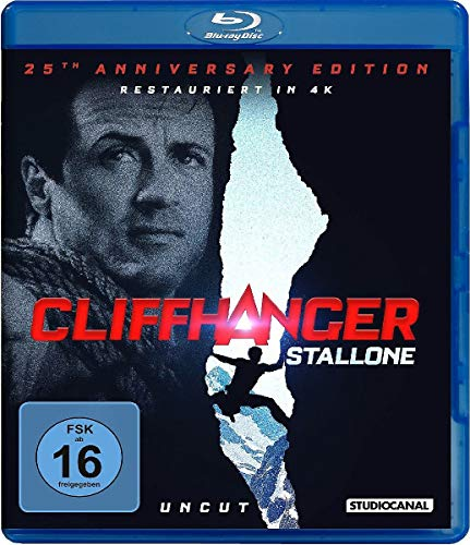 Blu-ray - Cliffhanger (Uncut) (25th Anniversary Edition)