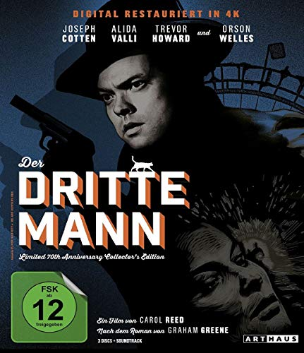 Blu-ray - Der dritte Mann (Remastered) (Limited 70th Anniversary Collector's Edition)