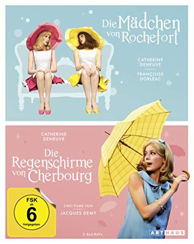 Blu-ray - Die Mädchen von Rochefort & Die Regenschirme von Cherbourg (OmU)