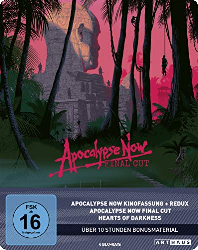 Blu-ray - Apocalypse Now Final Cut (Remastered) (4 Blu-ray Set) (Limited 40th Anniversary Steelbook Edition)