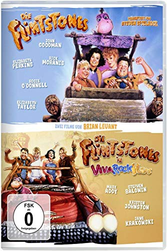 DVD - The Flintstones - Die Familie Feuerstein / Die Flintstones in Viva Rock Vegas [2 DVDs]