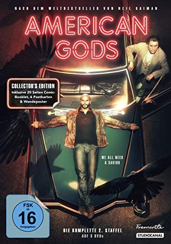 DVD - American Gods - Staffel 2 (Collector's Edition)