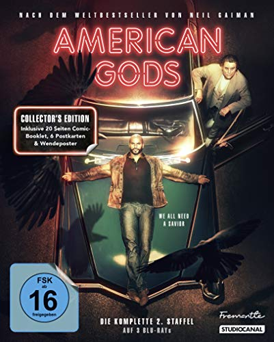 Blu-ray - American Gods / Collector's Edition / 2. Staffel [Blu-ray]