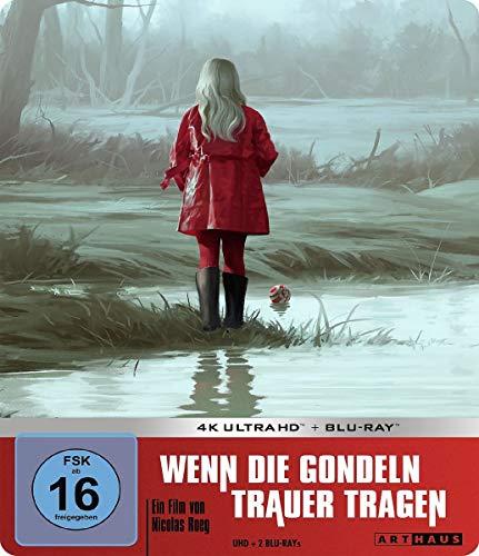 Blu-ray - Wenn die Gondeln Trauer tragen Ultra HD (+ 2 Blu-ray) (Limited Steelbook Edition)
