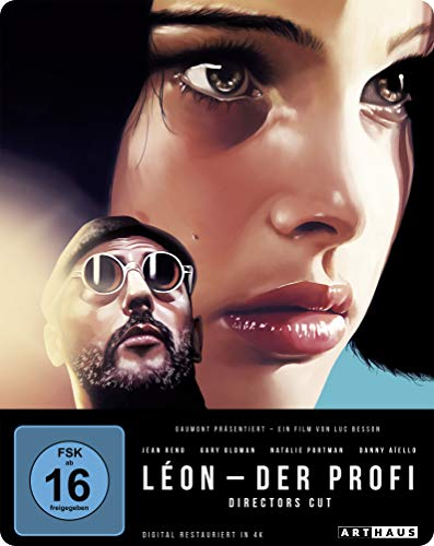 Blu-ray - Leon - Der Profi (Director's Cut) (Remastered) (Limited 25th Anniversary Steelbook Edition)