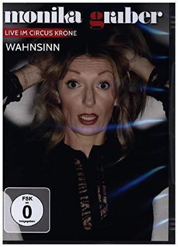 DVD - Monika Gruber - Wahnsinn - Live im Circus Krone