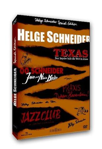 DVD - Helge Schneider - 4 Filme (Limited Special Edition)