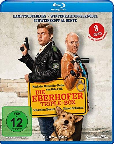 Blu-ray - Die Eberhofer Triple-Box (Dampfnudelblues / Winterkartoffelknödel / Schweiskopf al dente)