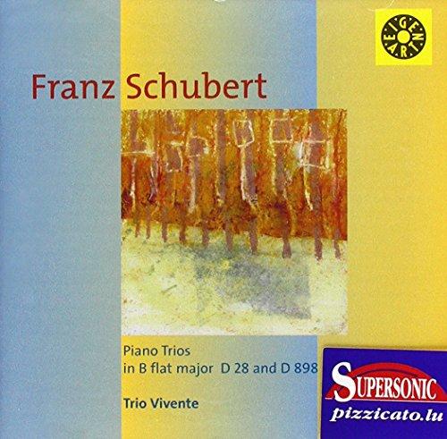 Schubert , Franz - Piano Trios In B Flat Major, D. 28 And D. 898 (Trio Vivente)