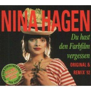 Hagen , Nina - Du hast den Farbfilm vergessen (Original & Remix '92) (Maxi)