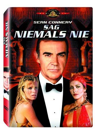 DVD - Bond - Sag niemals nie