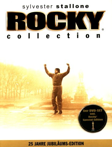 DVD - Rocky Collection 1-5 (25 Jahre Jubiläums-Edition)