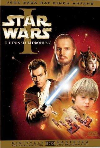 DVD - Star Wars - Episode 1 - Die dunkle Bedrohung