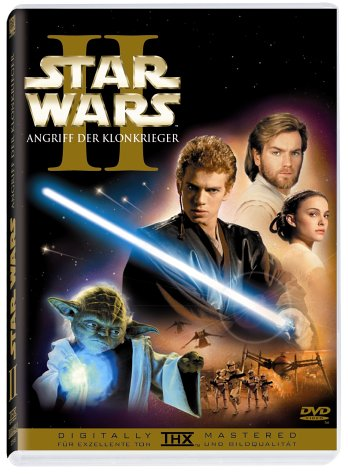DVD - Star Wars - Episode 2 - Angriff der Klonkrieger