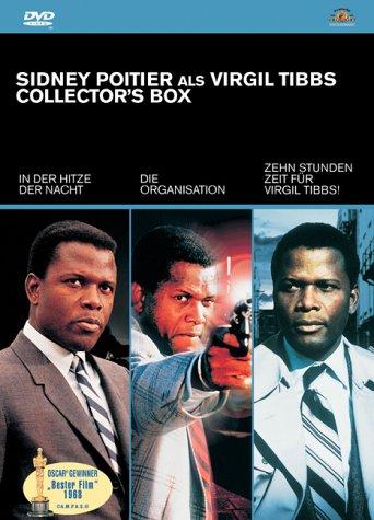 DVD - Sidney Portier als Virgil Tibbs - Collector's Box