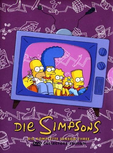 DVD - Die Simpsons - Staffel 3  (2006) (Collector's Edition)