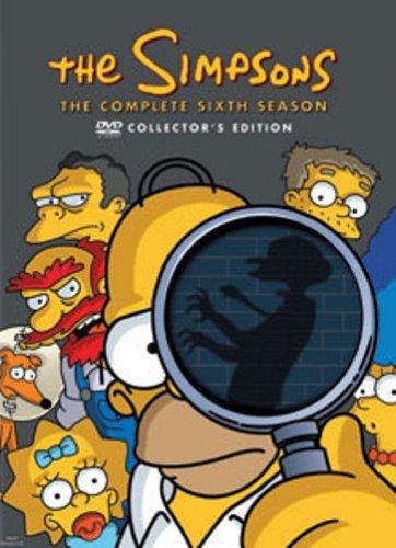 DVD - Die Simpsons - Staffel 6 (Collectors Edition)
