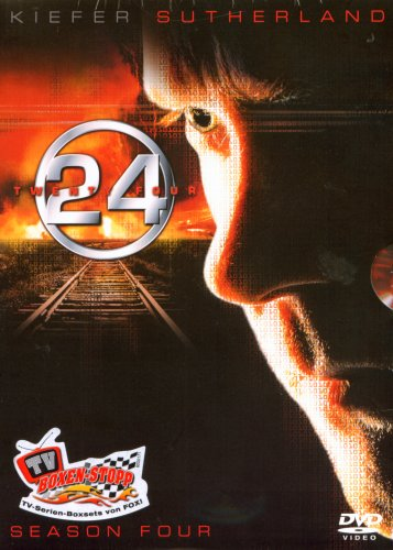 DVD - 24 - Staffel 4 (Amary Box)