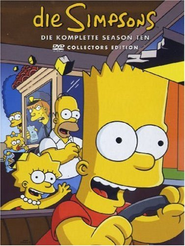 DVD - Die Simpsons - Staffel 10 (Collectors Edition)